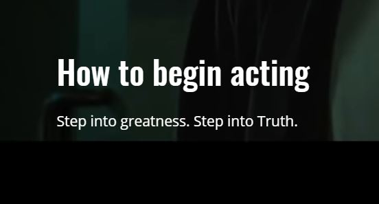 How To Become An Actor LLC