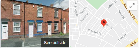 St Helens House, Office and Student Removals