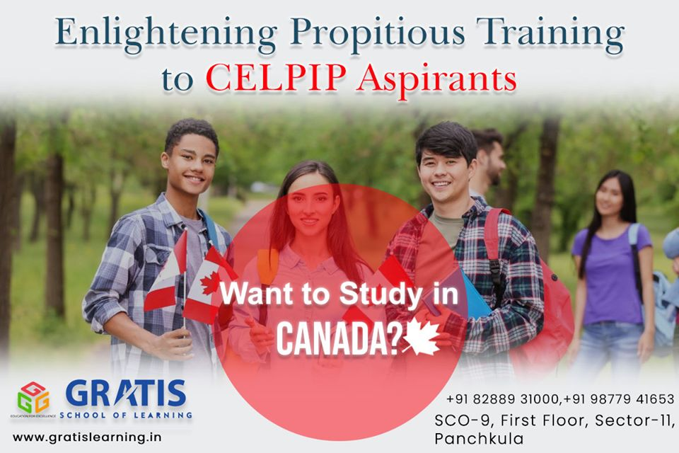 CELPIP Classes in Panchkula / CELPIP Coaching in Panchkula