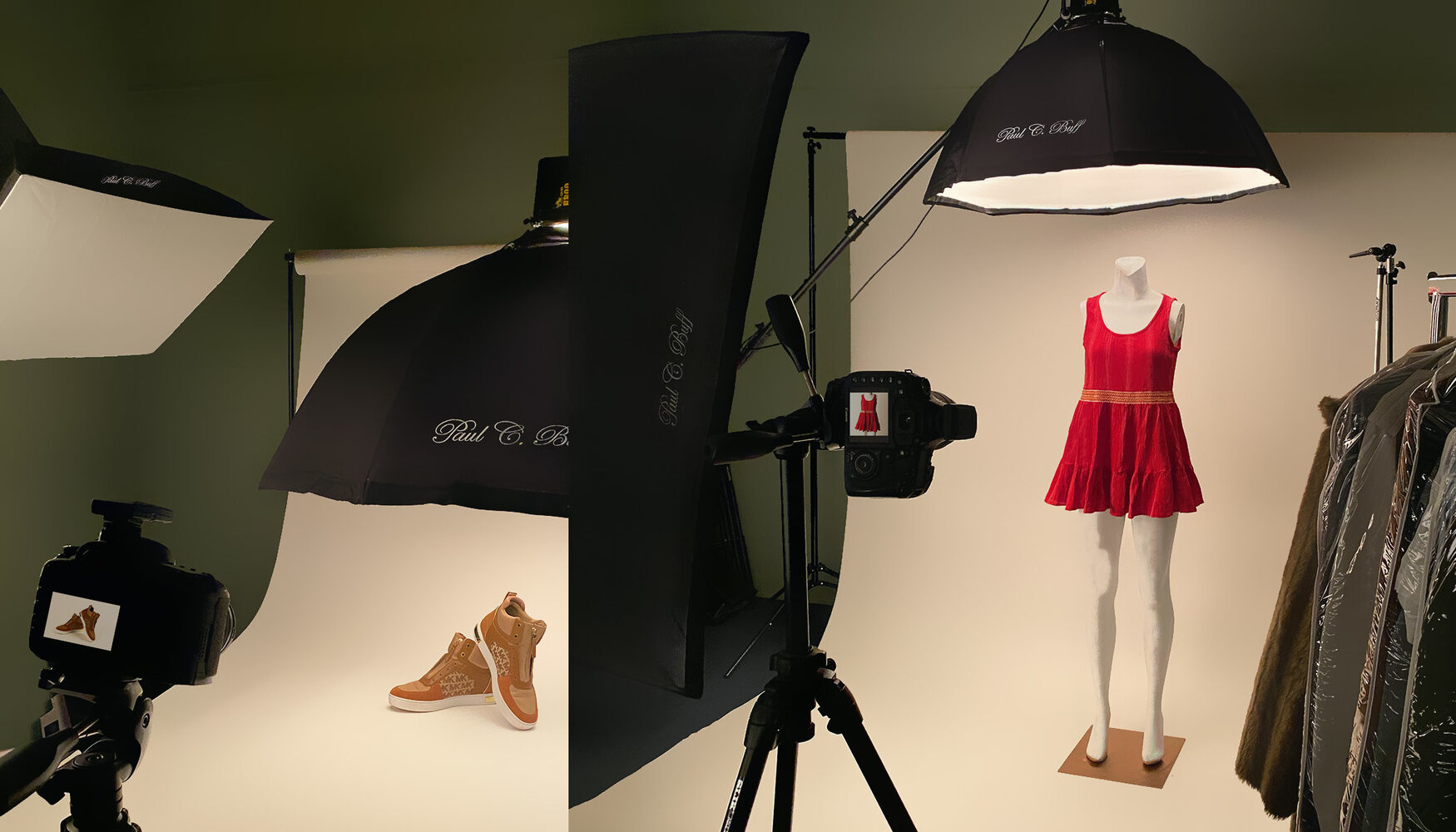 Clothing and Product Photography Studio