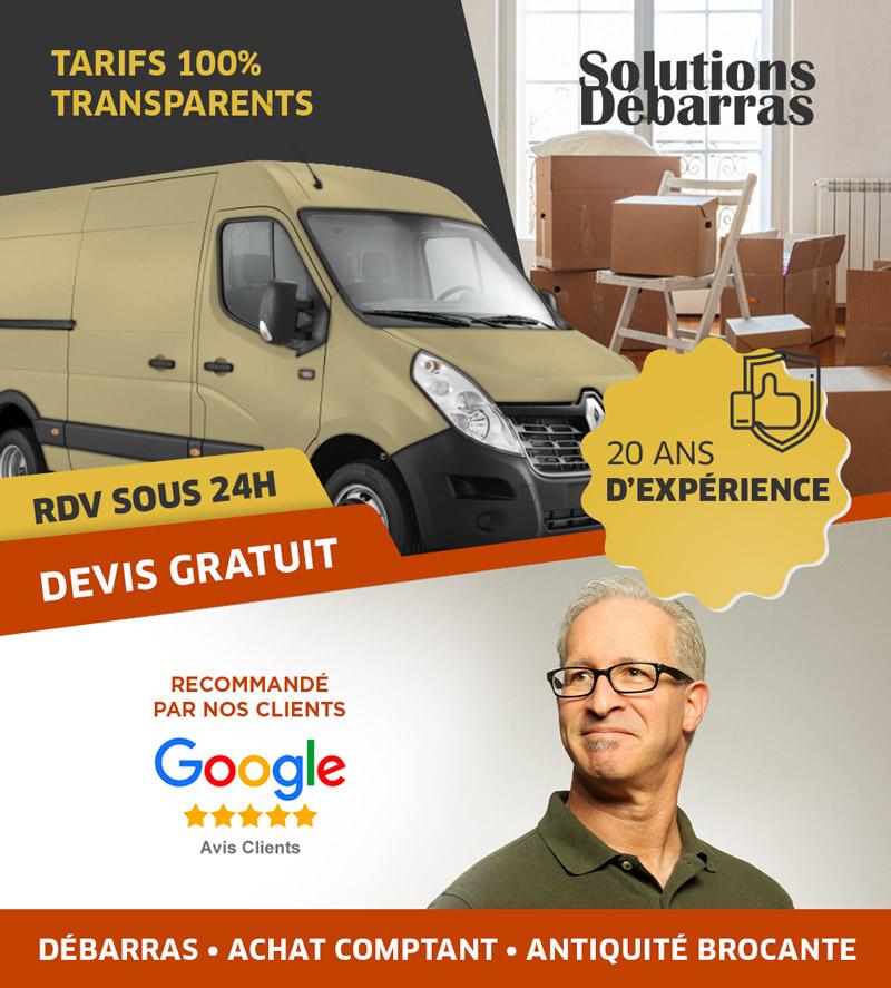 Solutions Débarras - Débarras Paris et IDF