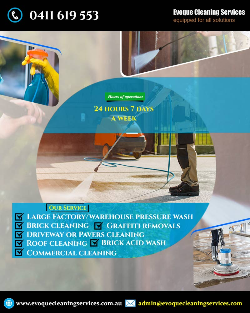 Residential and Commercial Cleaning Rosebud | Evoque Cleaning Services