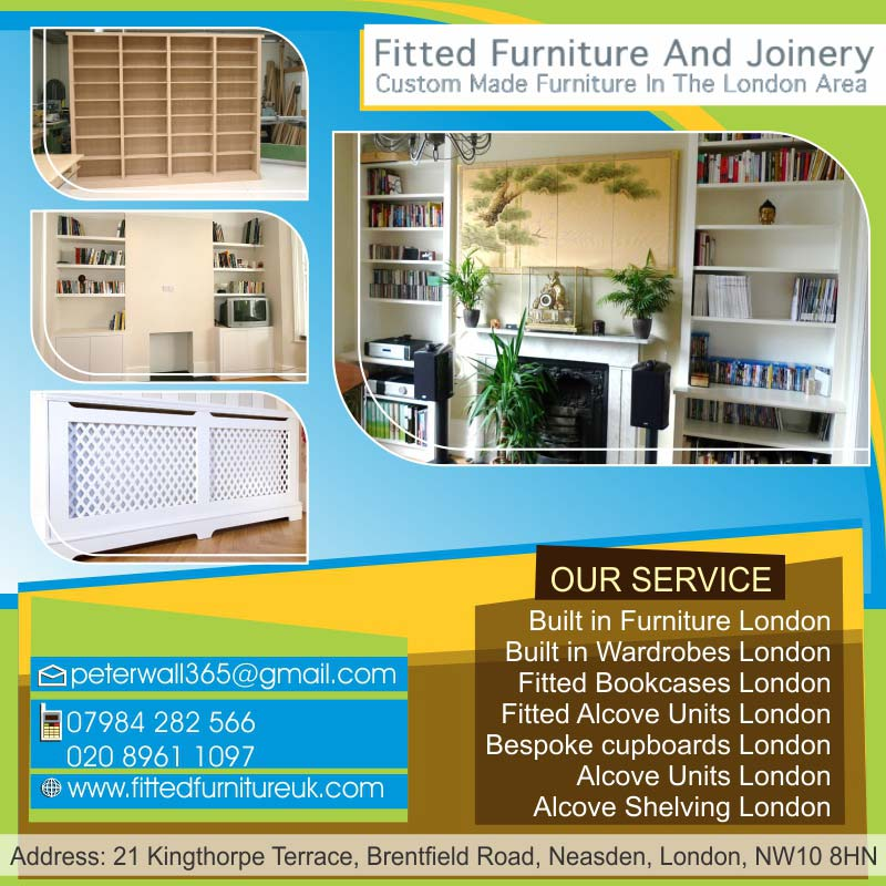 Bespoke Bookcases London | Fitted Furniture And Joinery Ltd