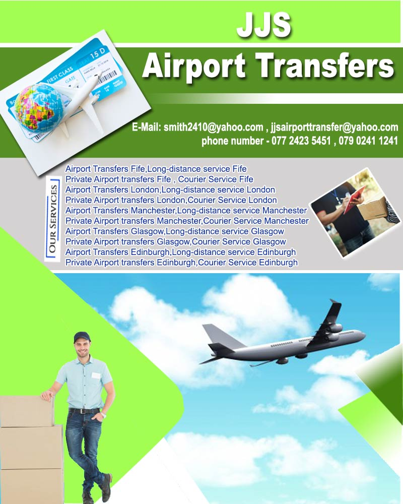Courier Service Fife | JJS Airport Transfers