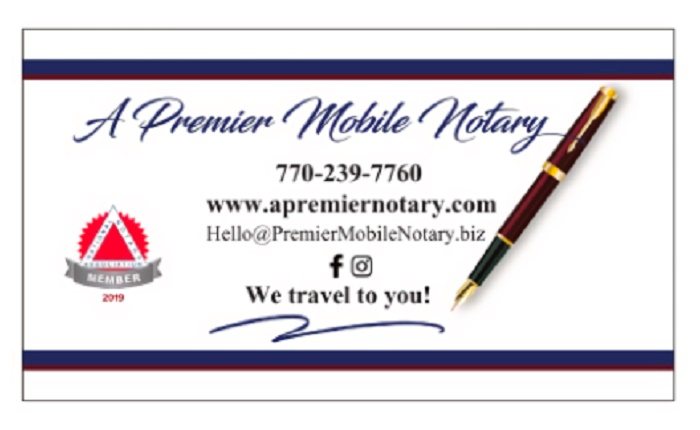 A Premier Mobile Notary