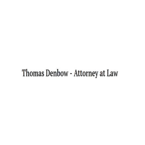 Thomas M. Denbow Attorney at Law
