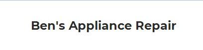 Ben's Appliance Repair