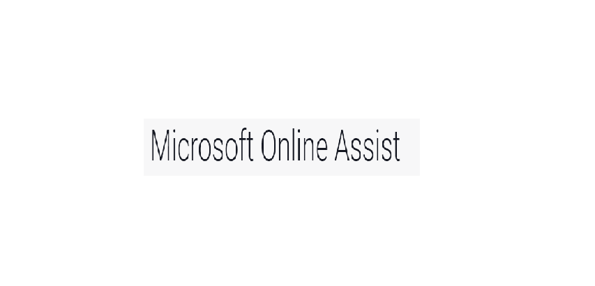 Microsoft Online Assist