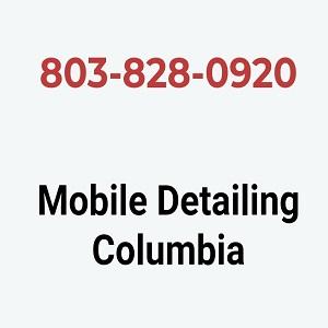 Mobile Detailing Columbia