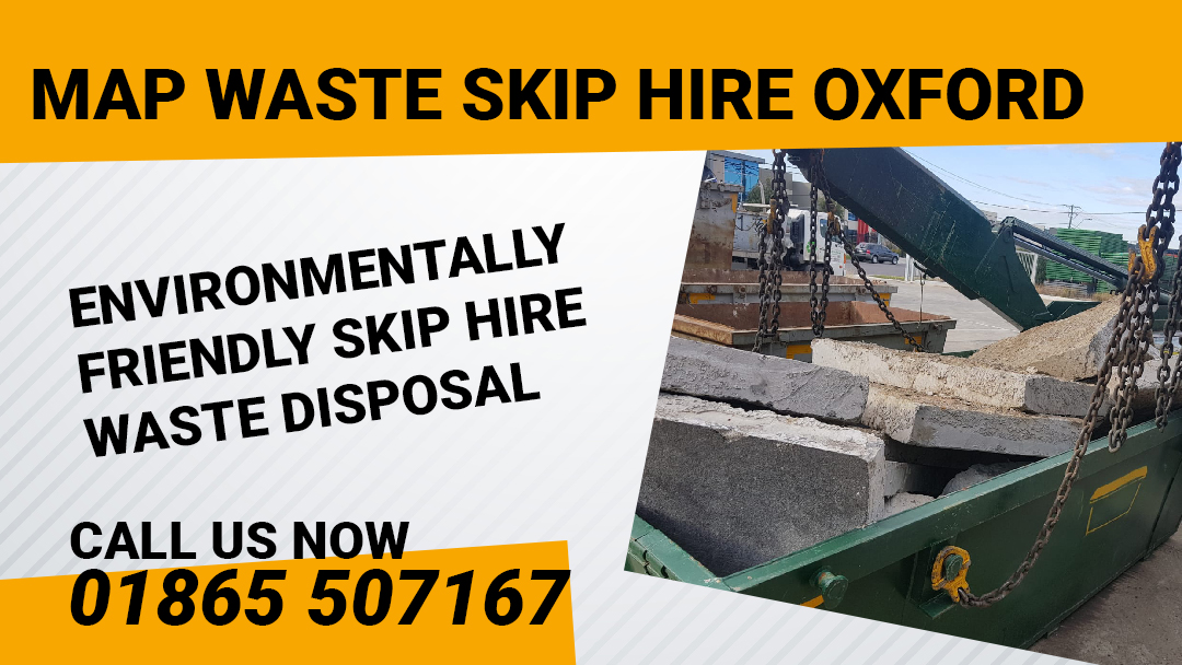 MAP Waste Skip Hire Oxford
