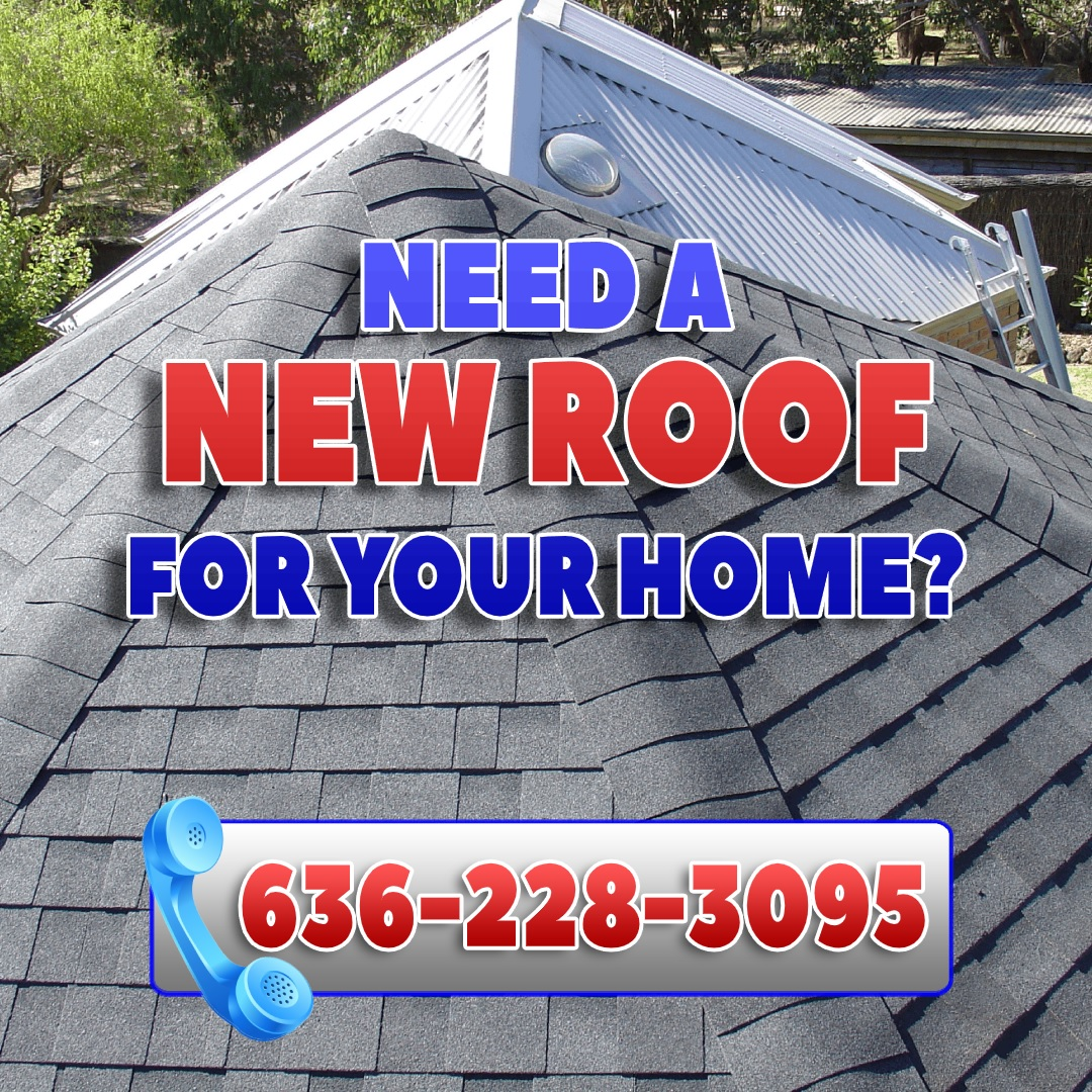 Roofing services in O'Fallon, MO