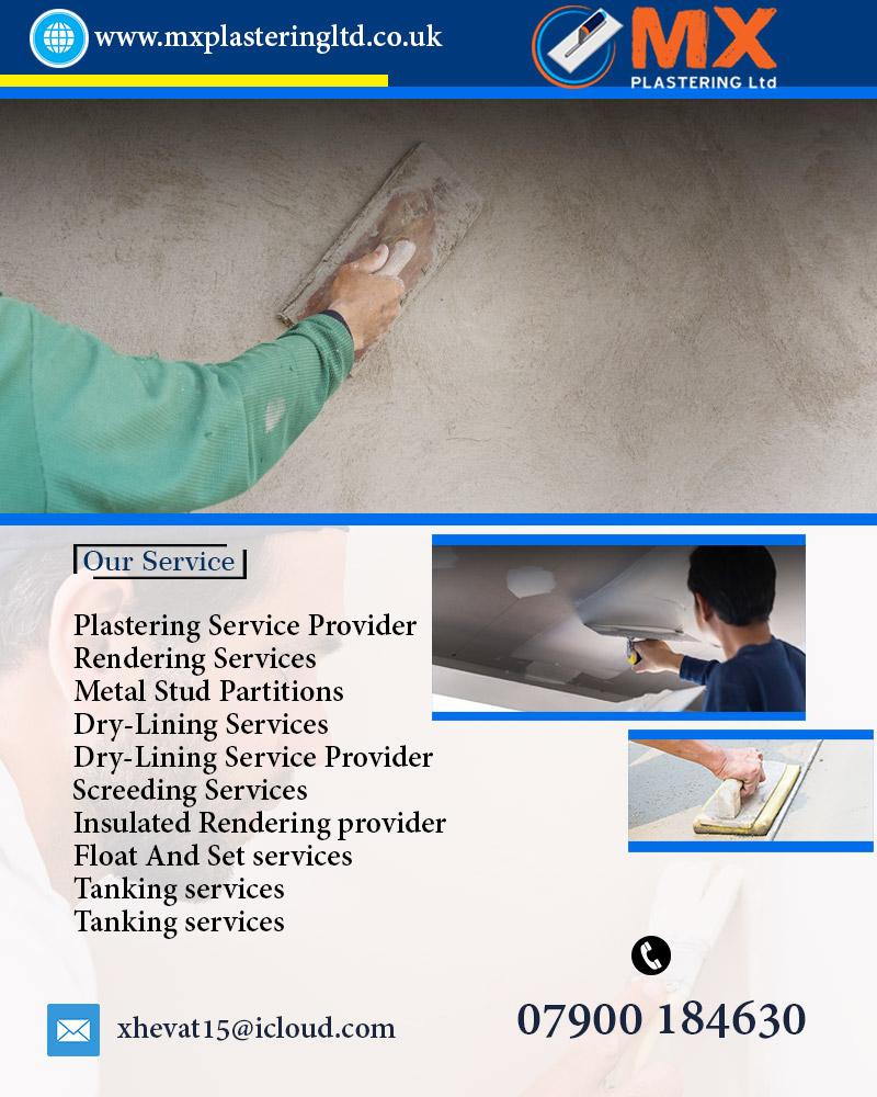 Insulated Rendering Provider London | MX PLASTERING Ltd
