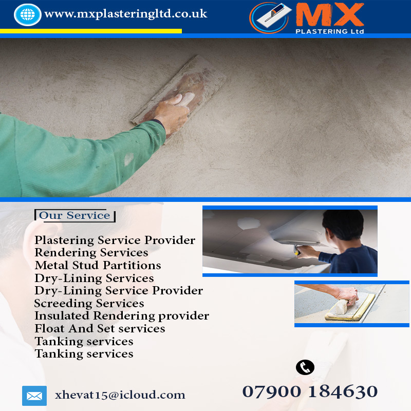 Plastering Company London | MX PLASTERING Ltd