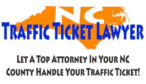 NC Traffic Ticket Lawyer