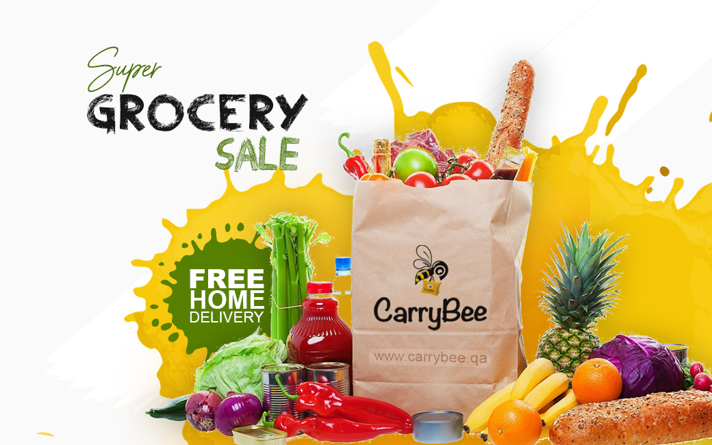 CarryBee | Online Grocery Store in Doha, Qatar
