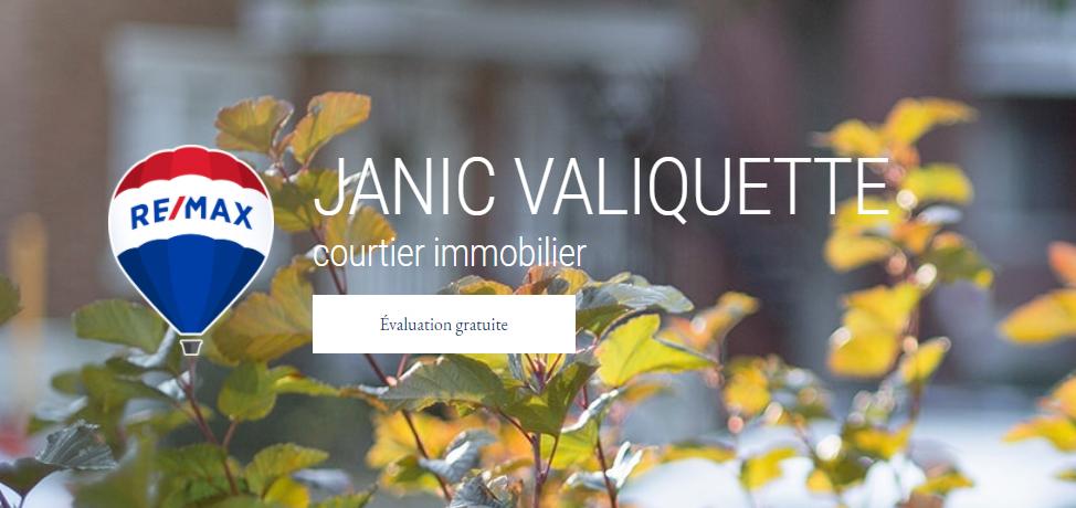 Janic Valiquette: RE/MAX 3000 inc. - Courtier Immobilier à Montréal