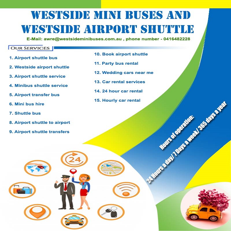 Westside Mini Buses and Westside Airport Shuttle | Airport shuttle transfers